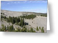 Mount Hood Pano Greeting Card