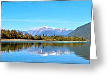 Mount Shuksan Greeting Card