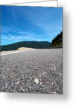 Mountain Highway Greeting Card by Ivan SABO