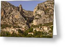 Moustier-sainte-marie Greeting Card