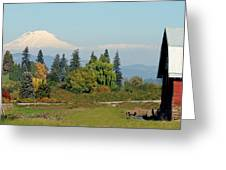 Mt. Adams In The Country Greeting Card