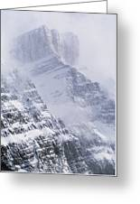 Mt. Chephren, Banff National Park Greeting Card