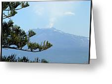 Mt. Etna Greeting Card