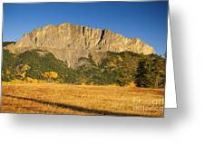 Mt Yamnuska Greeting Card