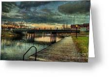 Napanee Harbour  Greeting Card