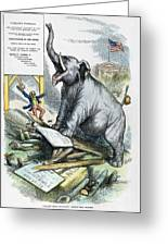 Nast: Tweed Cartoon, 1875 Greeting Card by Granger