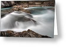 Natural Bridge Yoho National Park Greeting Card