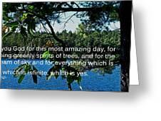 Natural Greeting Card