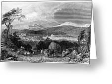 New Hampshire, 1839 Greeting Card