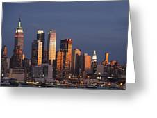 New York City, New York, United States Greeting Card