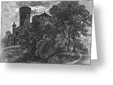 New York State: Castle Greeting Card