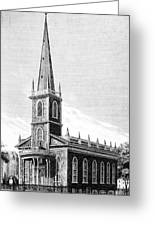 New York: Trinity Church Greeting Card