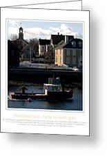 Nh Working Harbor Greeting Card by Jim McDonald Photography