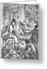 Nicaea Council, 325 A.d Greeting Card
