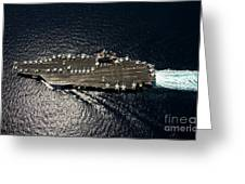Nimitz Class Aircraft Carrier Uss Greeting Card
