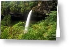 North Falls Canyon Greeting Card