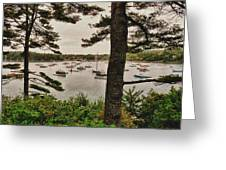 Northeast Harbor Greeting Card