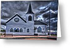 Norwegian Church Cardiff Bay Greeting Card