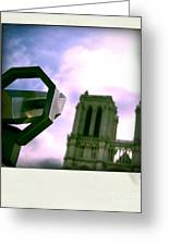 Notre Dame De Paris. France Greeting Card