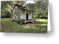 Oakley Plantation Slaves Quarters Greeting Card
