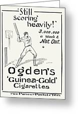 Ogdens Cigarettes, 1897 Greeting Card