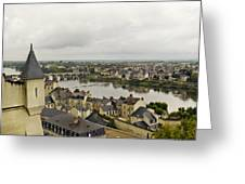 old French town  Greeting Card