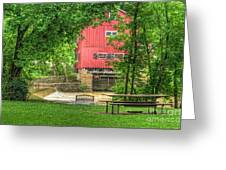 Old Indian Mill Greeting Card