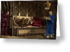 Opium Den Greeting Card