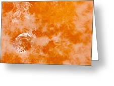 Orange 2 Greeting Card