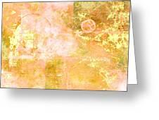 Orange Peel Greeting Card