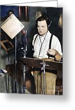 Orson Welles (1915-1985) Greeting Card