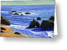 Pacific Solitude Greeting Card