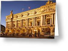 Palais Garnier Greeting Card