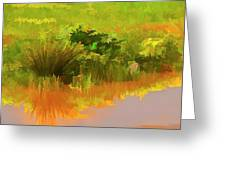 Palette Of Nature Greeting Card
