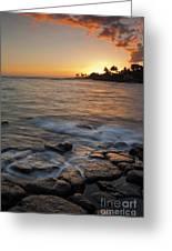 Paradise Sunset Greeting Card