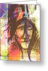 Pastel Man 12 Greeting Card