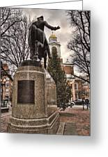 Paul Revere-statue Greeting Card