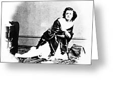 Pauline Cushman (1833-1893) Greeting Card