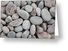 Pebbles On Beach Greeting Card