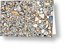 Pebbles Greeting Card by Tom Gowanlock