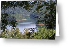 Peekaboo Lake Greeting Card