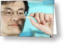 Peidong Yang, Chinese-born Chemist Greeting Card