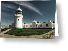 Pendeen Lighthouse Greeting Card