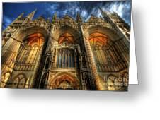 Peterborough Cathedral Greeting Card