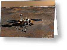 Phoenix Mars Lander Greeting Card