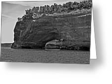 Pictured Rocks Arch Greeting Card