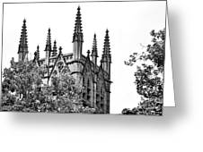 Pinnacles Of St. Mary's Cathedral - Sydney Greeting Card