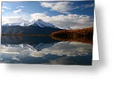 Pioneer Peak Greeting Card