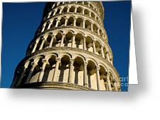 Pisa Tower Greeting Card