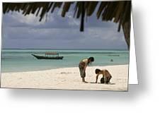 Pongwe Beach Hotel  Greeting Card